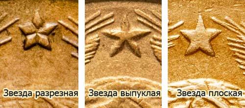 разновидности трехкопеечной монеты СССР